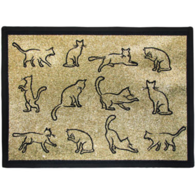 jcpenney.com | PB Paws by Park B. Smith® Kitty Fun Tapestry Pet Mat