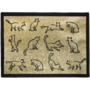 PB Paws by Park B. Smith™ Kitty Fun Tapestry Pet Mat