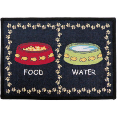 jcpenney.com | PB Paws by Park B. Smith® Kitty Meal Tapestry Pet Mat