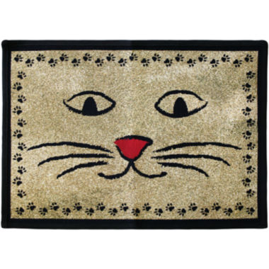 jcpenney.com | PB Paws by Park B. Smith® Kitty Whiskers Tapestry Pet Mat