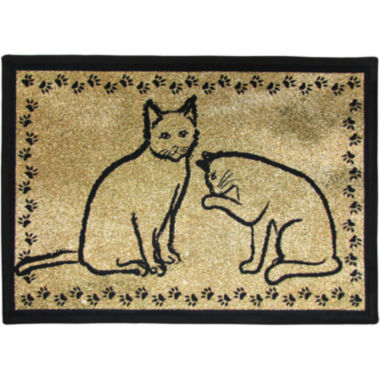 jcpenney.com | PB Paws by Park B. Smith® Kitty Pals Tapestry Pet Mat