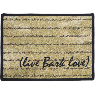 jcpenney.com | PB Paws by Park B. Smith® Live, Bark, Love Pet Mat