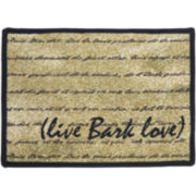 PB Paws by Park B. Smith® Live, Bark, Love Pet Mat