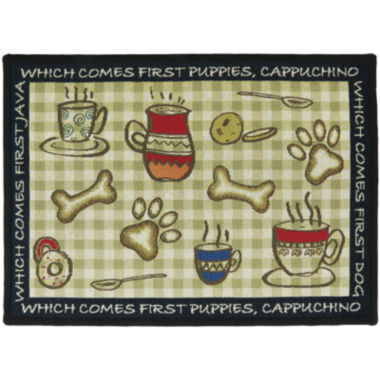 jcpenney.com | PB Paws by Park B. Smith® Puppy First Tapestry Pet Mat