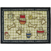 PB Paws by Park B. Smith® Puppy First Tapestry Pet Mat