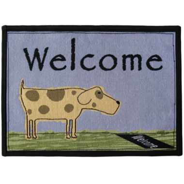 jcpenney.com | PB Paws by Park B. Smith® Welcome Dog Tapestry Pet Mat