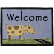 PB Paws by Park B. Smith® Welcome Dog Tapestry Pet Mat