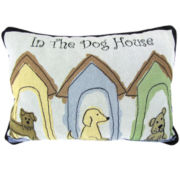P.B. Paws by Park B. Smith® Dog Houses Set of 2 Decorative Pillows