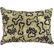 PB Paws by Park B. Smith® Puppy Paws Set of 2 Decorative Pillows