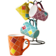 Baldwin 5-pc. Metal Mug Tree Set