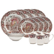 Johnson Brothers His Majesty Thanksgiving 16-pc. Stoneware Dinnerware Set