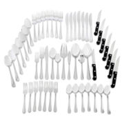 JCPenney Home™ Beaded 53-pc. Flatware Set