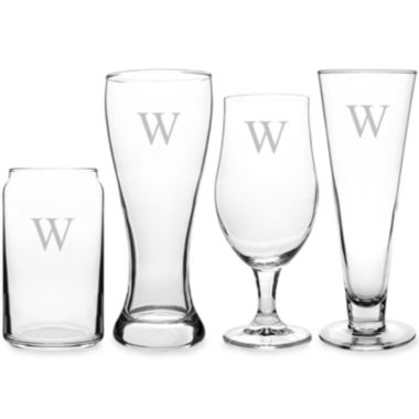 jcpenney.com | Cathy's Concepts Personalized 4-pc. Specialty Beer Glass Set