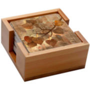 Thirstystone® Aspen Bamboo Set of 4 Coasters