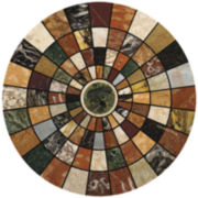 Thirstystone® Marble Mosaic Set of 4 Sandstone Coasters