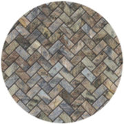 Thirstystone® Stone Herringbone Set of 4 Sandstone Coasters