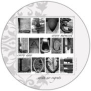 Thirstystone® Live, Laugh, Love Set of 4 Stoneware Coasters