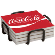 Thirstystone® Enjoy Coca-Cola Coasters Gift Set