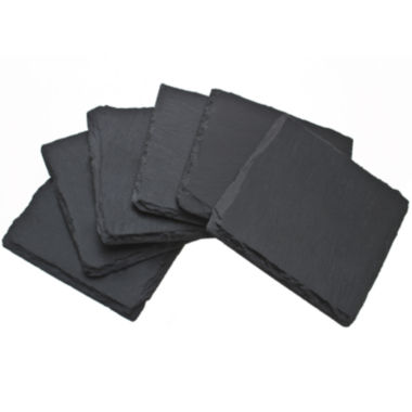 jcpenney.com | Thirstystone® Plain Slate Set of 6 Coasters