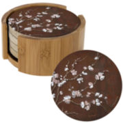 Thirstystone® Cherry Blossoms Set of 4 Coasters Gift Set