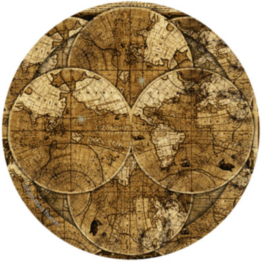 jcpenney.com | Thirstystone® World Map Set of 4 Coasters