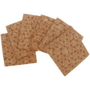 Thirstystone® Natural Dot Set of 6 Coasters