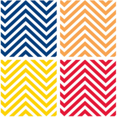 jcpenney.com | Thirstystone® Chevron Set of 4 Stoneware Coasters