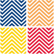 Thirstystone® Chevron Set of 4 Coasters