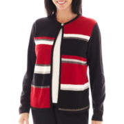 Alfred Dunner® Long-Sleeve Colorblock Layered Top