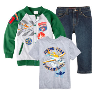 jcpenney.com | Disney Planes Graphic Tee, Jacket or Arizona Jeans – Boys