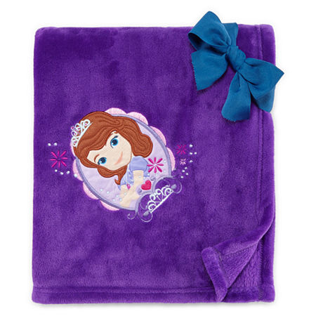 Disney Collection Sofia the First Fleece Throw