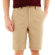 St. John's Bay® Legacy Flat-Front Shorts