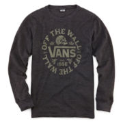 Vans® Long-Sleeve Thermal Graphic Tee - Boys 8-20