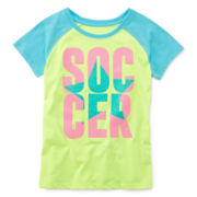 Xersion™ Short-Sleeve Sporty Tee - Girls Plus