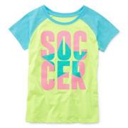Xersion™ Short-Sleeve Sporty Tee - Girls Plus