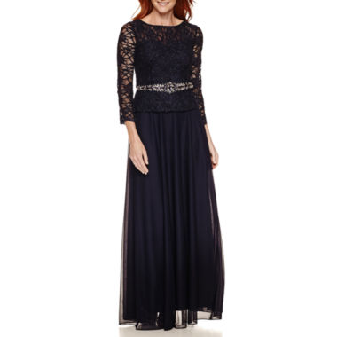 jcpenney.com | Jackie Jon 3/4 Sleeve Evening Gown