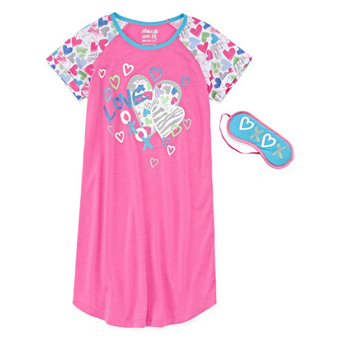 Starride Kids Nightshirt-Big Kid Girls