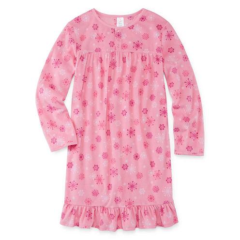 Girls Laura Ashley Sleep Nightgown-Big Kid