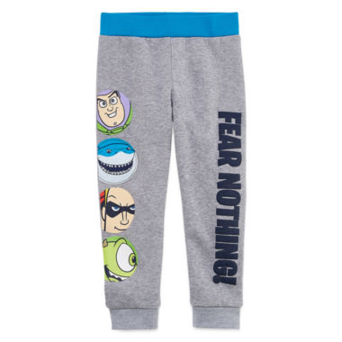 jcpenney.com | Okie Dokie Pixar Fear Nothing Fleece Pant - Toddler 2T-5T