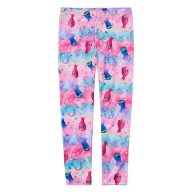 jcpenney.com | Trolls Print Knit Leggings - Big Kid