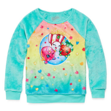 jcpenney.com | Shopkins Long Sleeve Sweatshirt - Big Kid Girls
