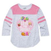 Shopkins Girls Graphic T-Shirt-Big Kid