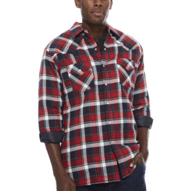 jcpenney.com | Ely Cattleman® Flannel Shirt Jacket - Tall