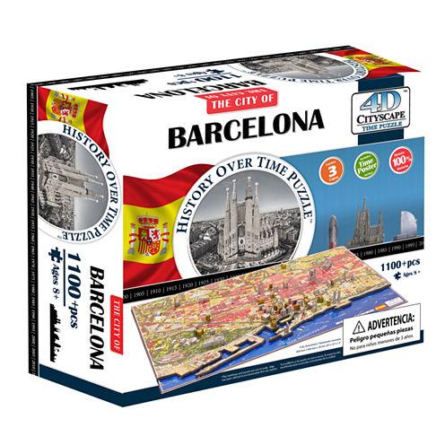 4D Cityscape 4D Cityscape Time Puzzle - Barcelona;Spain