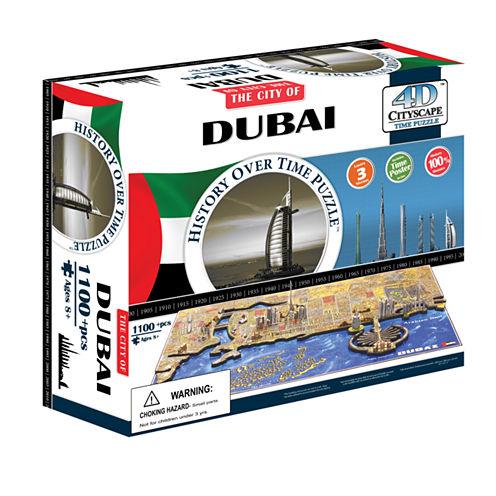 4D Cityscape 4D Cityscape Time Puzzle - Dubai; UAE