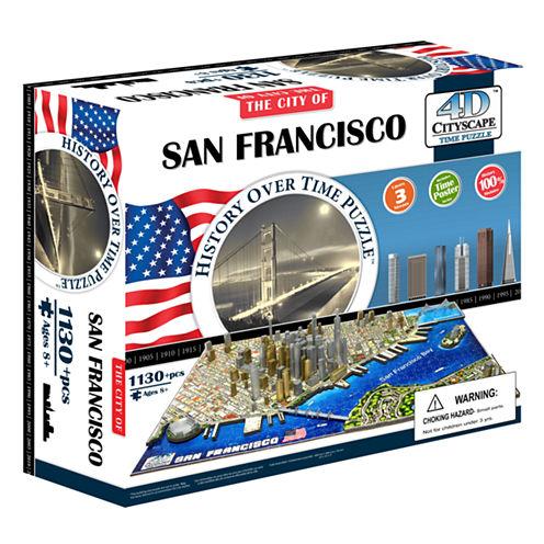 4D Cityscape 4D Cityscape Time Puzzle - San Francisco; USA