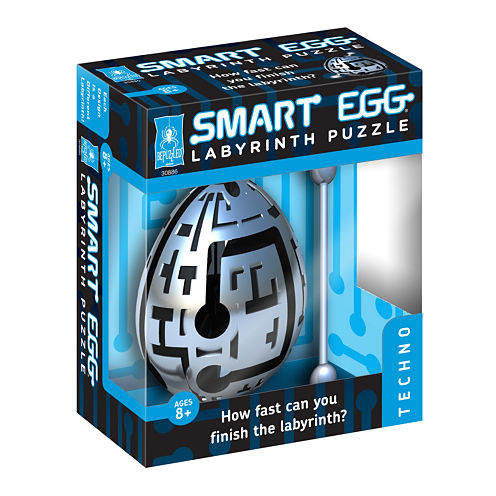 BePuzzled Smart Egg Labyrinth Puzzle - Techno