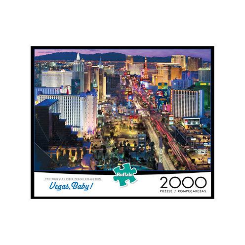 Buffalo Games Vegas Baby! Jigsaw Puzzle: 2000 Pcs