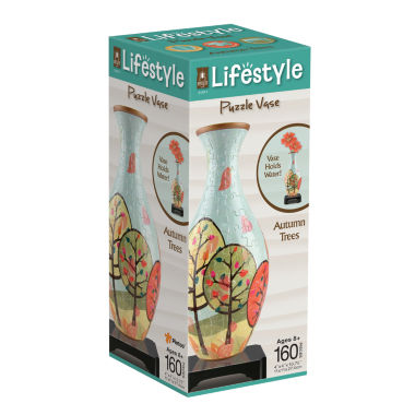 jcpenney.com | Lifestyle 3D Puzzle Vase - Autumn Trees: 160 Pcs