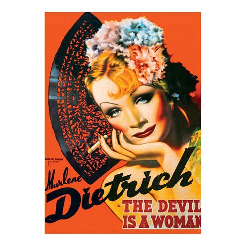 D-Toys Marlene Dietrich - Vintage Poster Jigsaw Puzzle: 1000 Pcs